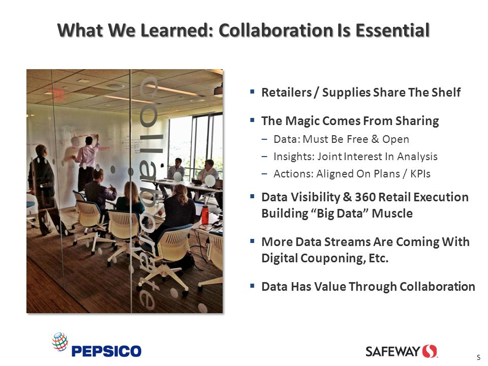 What We Learned: Collaboration Is Essential