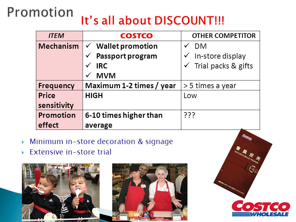 It's all about DISCOUNT!!!