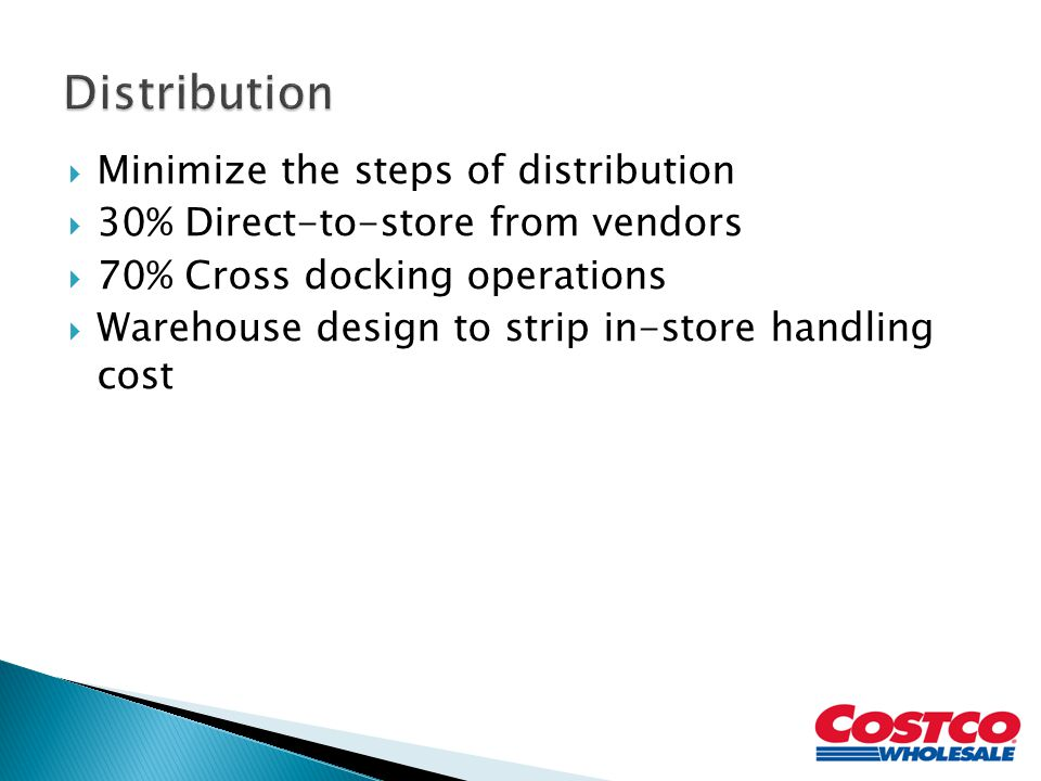 Distribution Minimize the steps of distribution