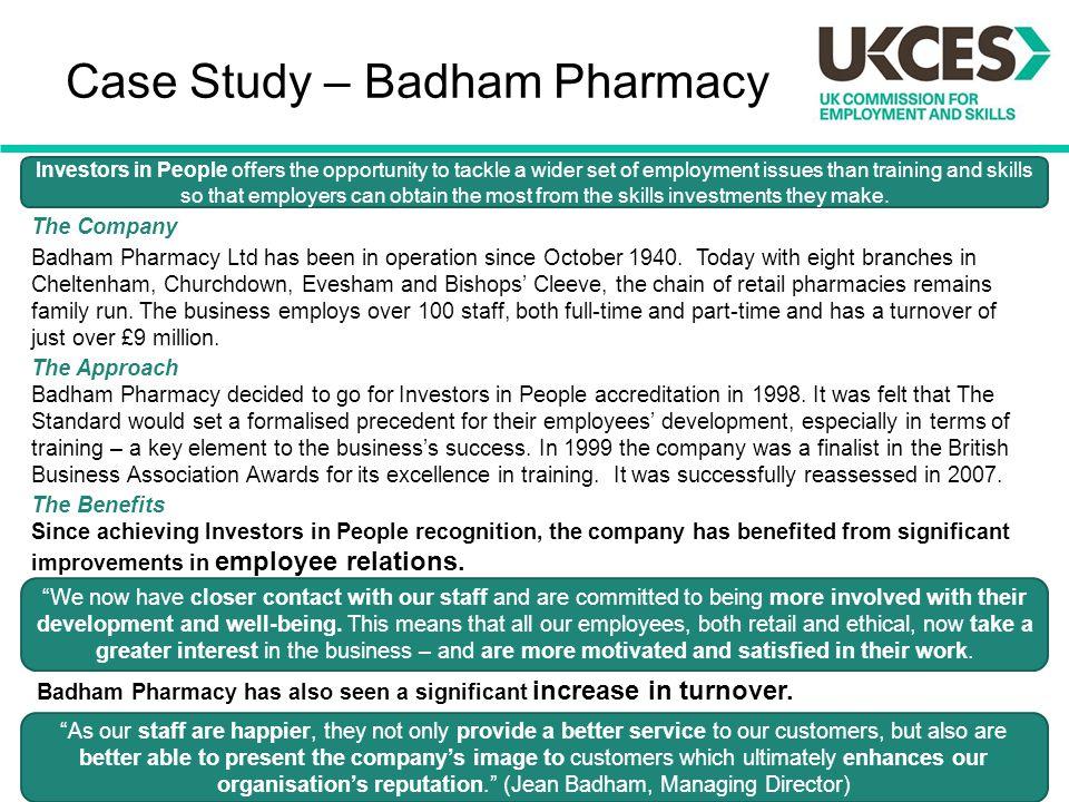 Case Study – Badham Pharmacy