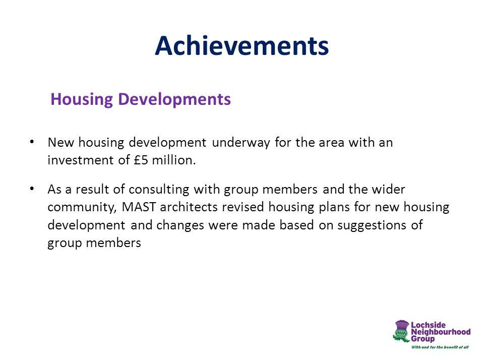 Achievements Housing Developments
