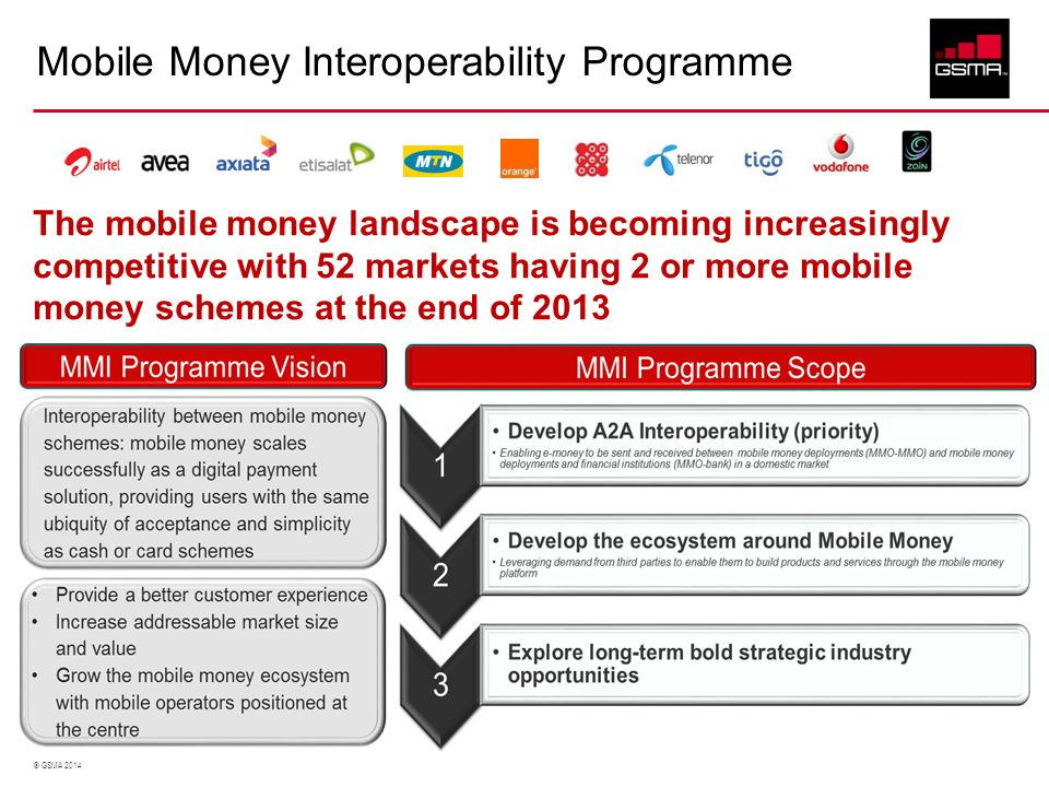 Mobile Money Interoperability Programme