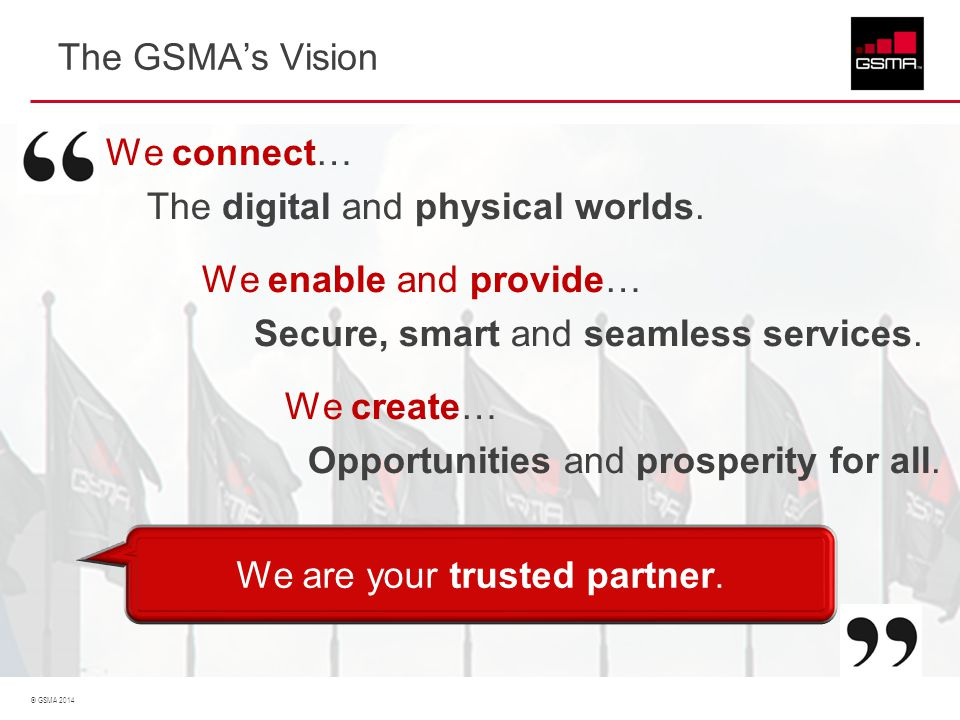 We are your trusted partner.