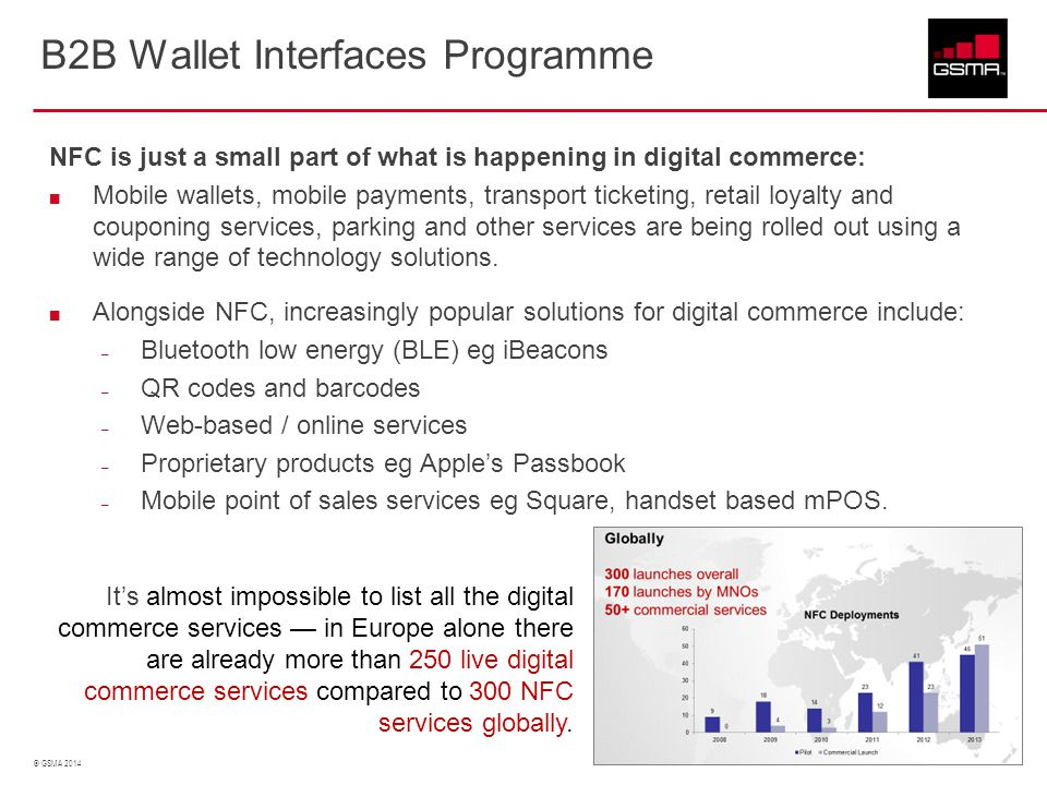 B2B Wallet Interfaces Programme