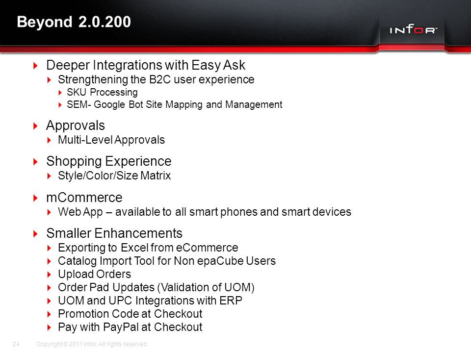 Beyond 2.0.200 Deeper Integrations with Easy Ask Approvals