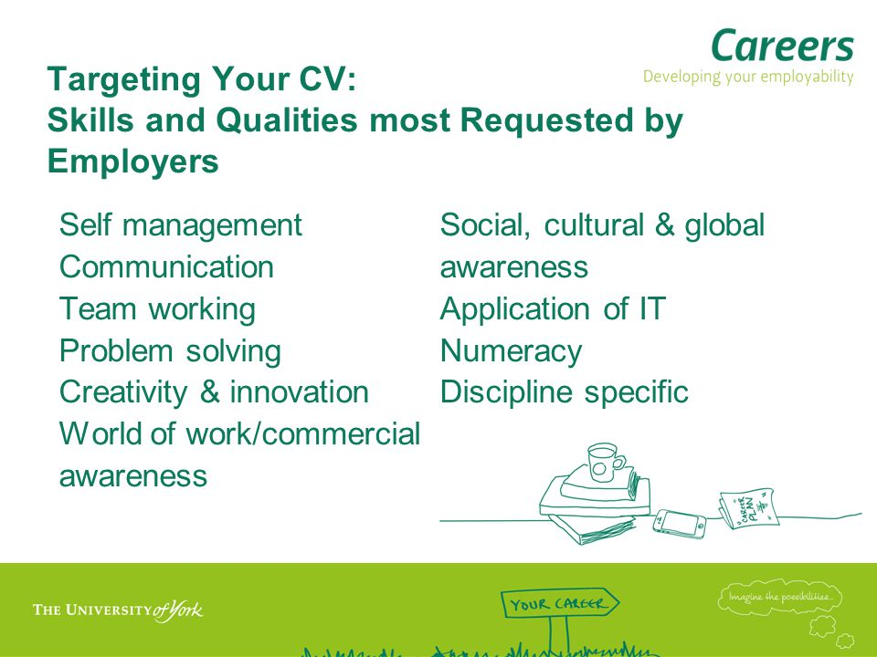 Targeting Your CV: Skills and Qualities most Requested by Employers