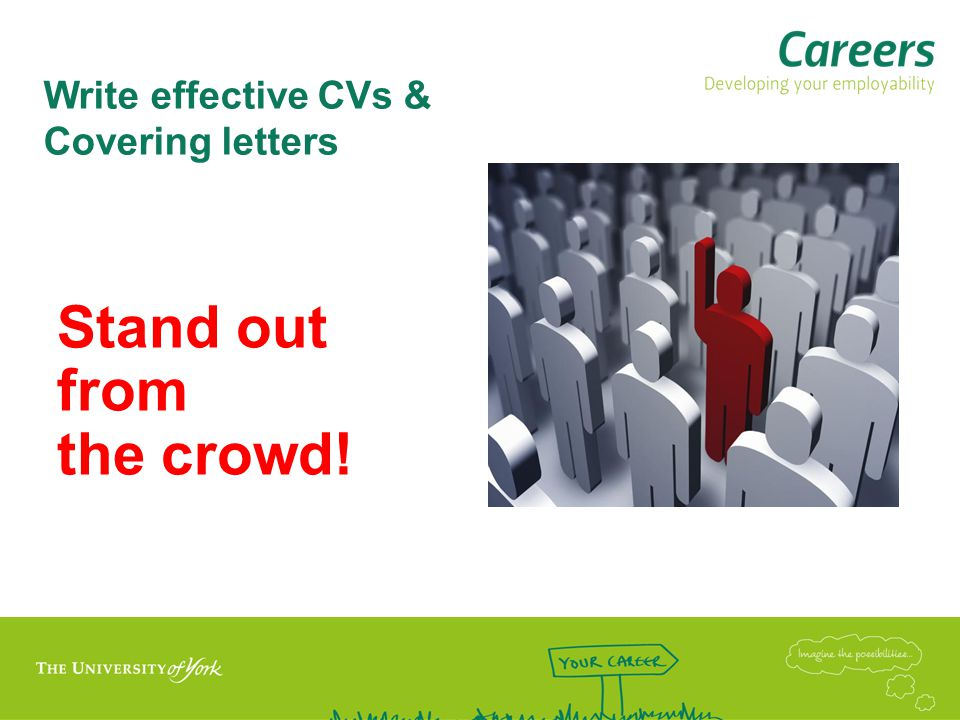 Write effective CVs & Covering letters