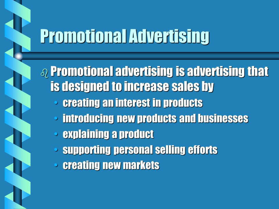Promotional Advertising