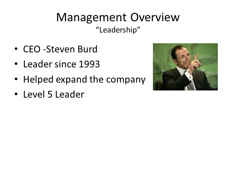 Management Overview Leadership