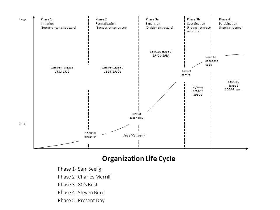 Organization Life Cycle