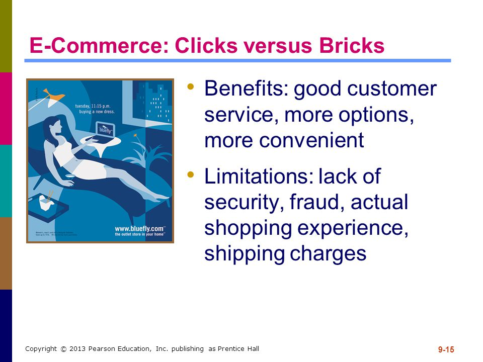 E-Commerce: Clicks versus Bricks
