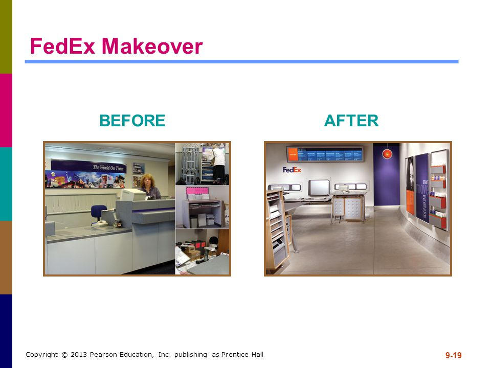 FedEx Makeover BEFORE AFTER