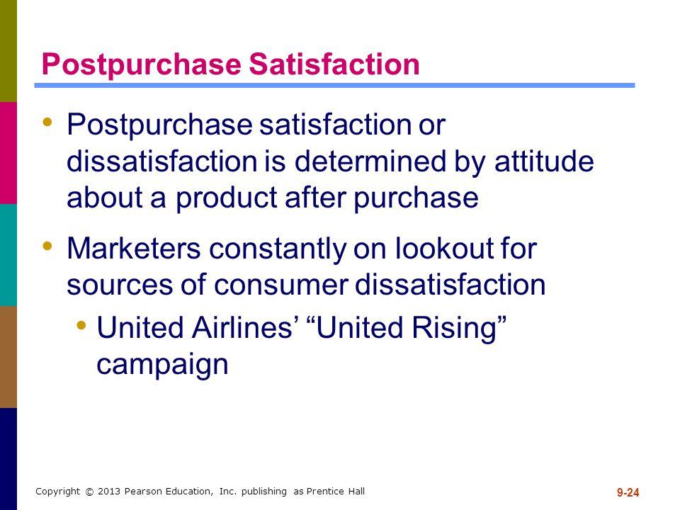 Postpurchase Satisfaction