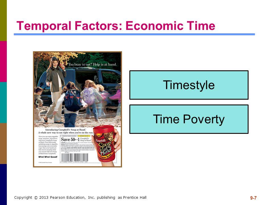 Temporal Factors: Economic Time