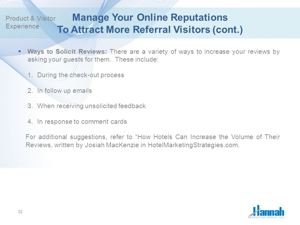 Manage Your Online Reputations