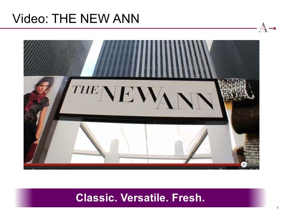 Classic. Versatile. Fresh.