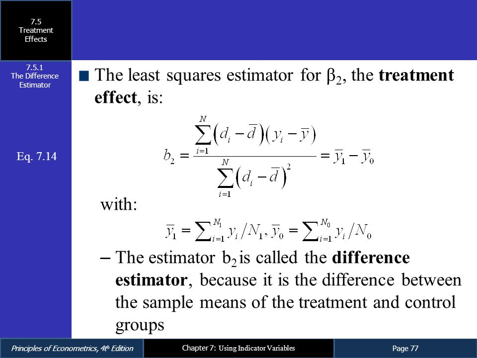 The Difference Estimator