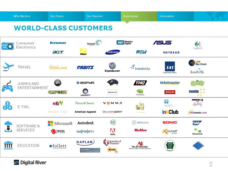World-class customers