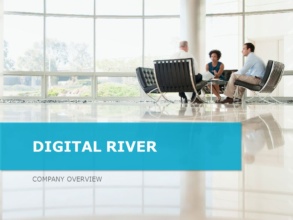 Digital River Company overview Who is Digital River What do we do