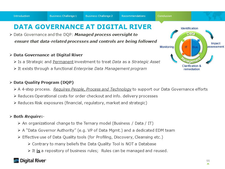 Data Governance at Digital River