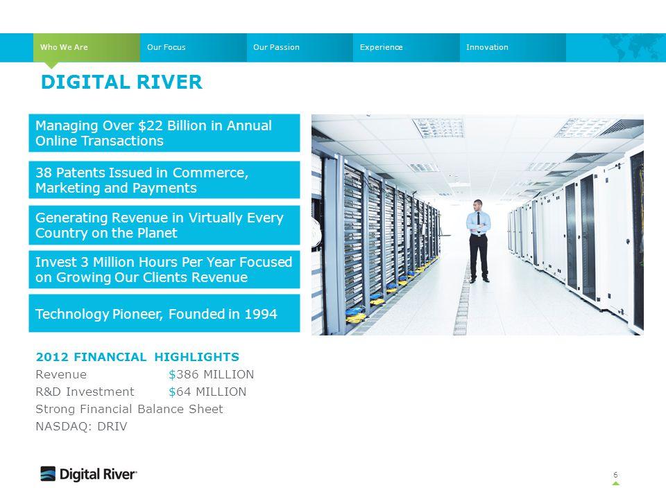 Digital river Managing Over $22 Billion in Annual Online Transactions