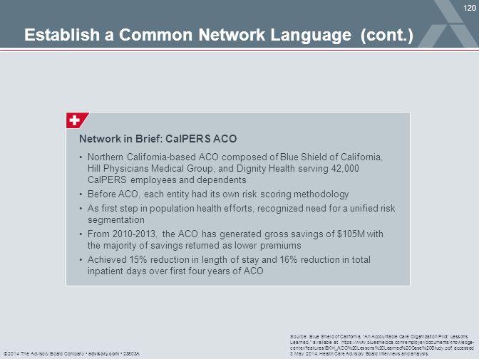 Establish a Common Network Language (cont.)