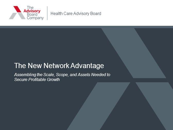 The New Network Advantage