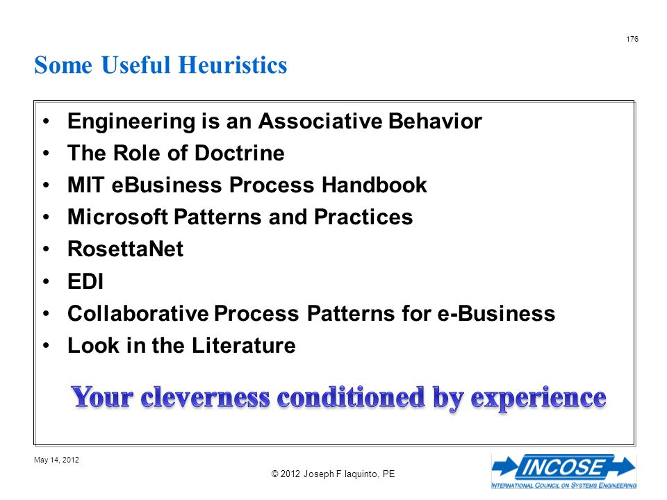 Some Useful Heuristics