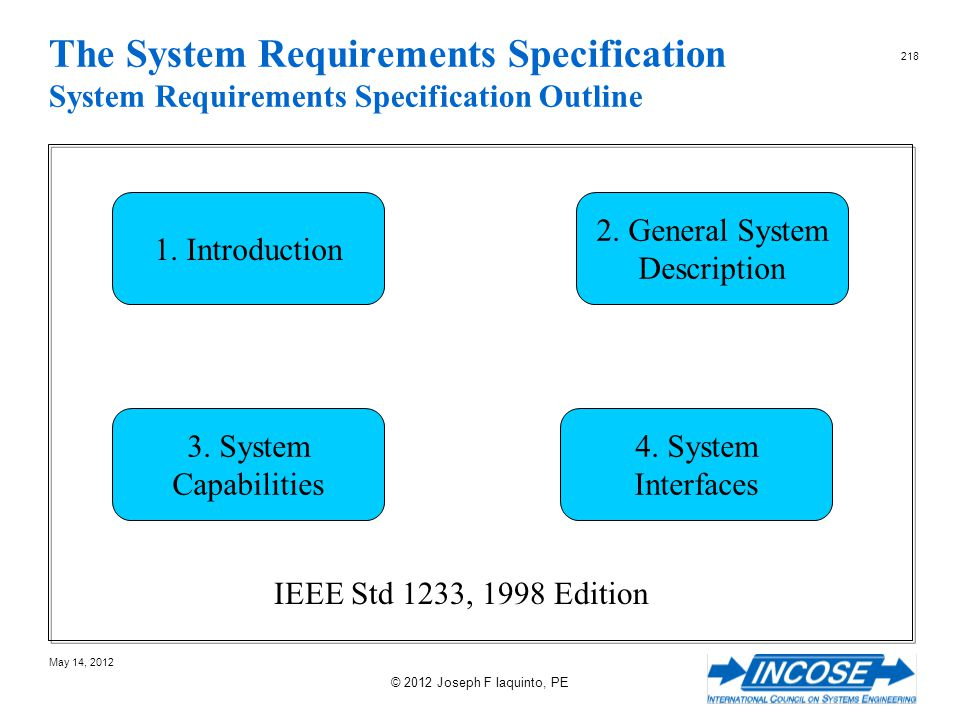 2. General System Description