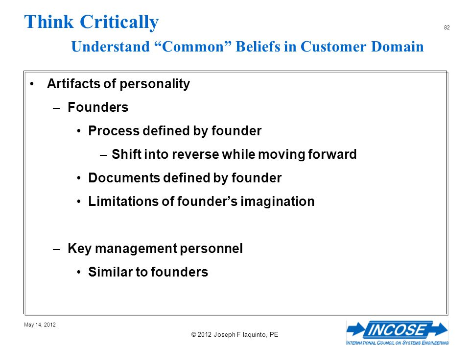 Think Critically Understand Common Beliefs in Customer Domain