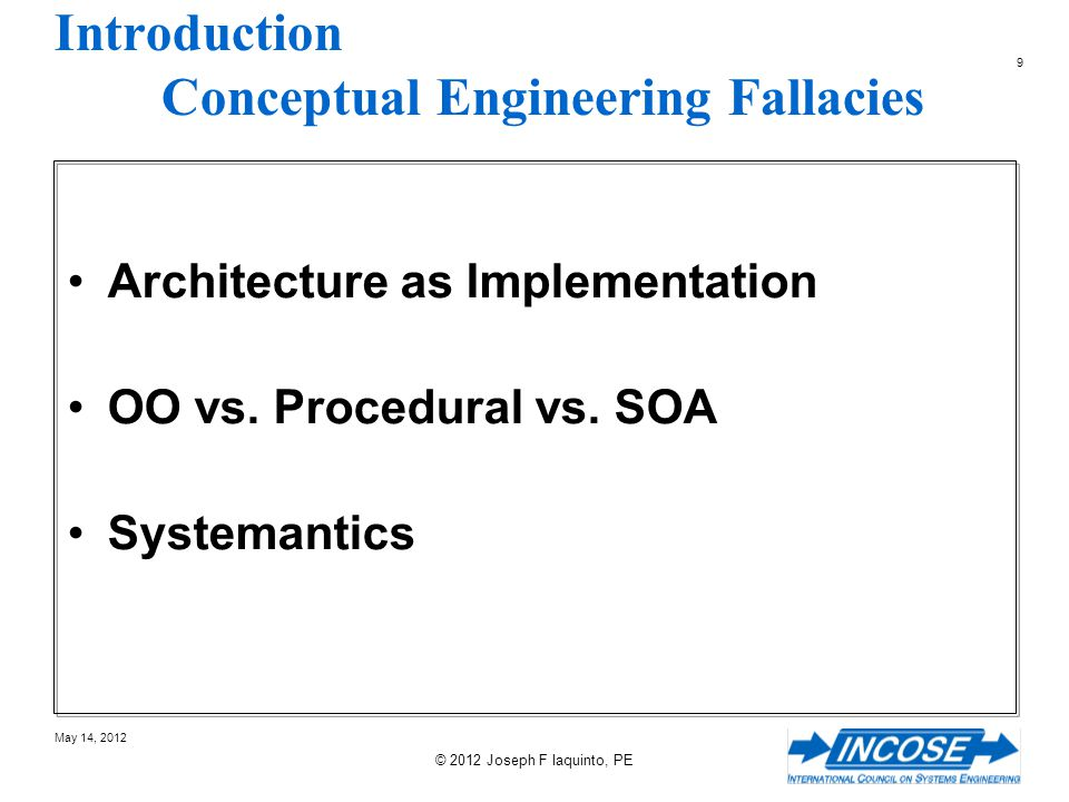 Introduction Conceptual Engineering Fallacies