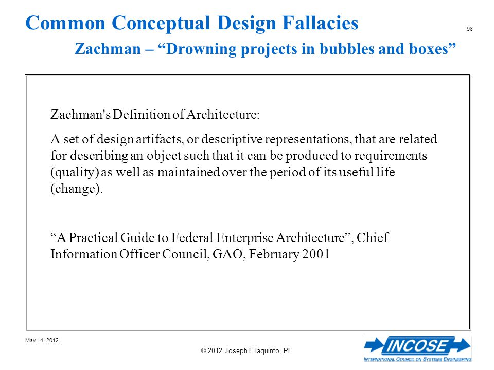 Common Conceptual Design Fallacies