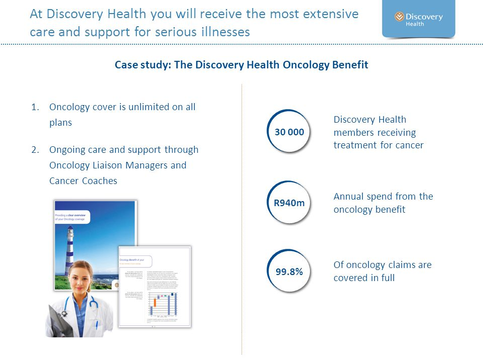 Case study: The Discovery Health Oncology Benefit