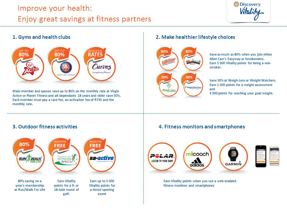 Improve your health: Enjoy great savings at fitness partners