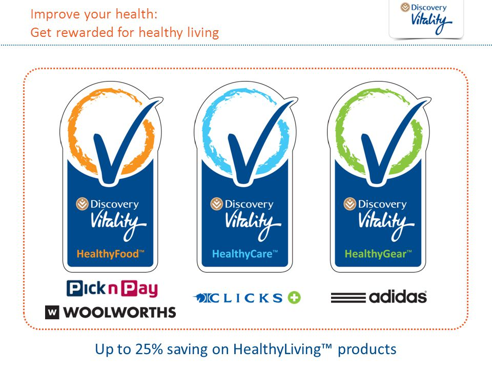Improve your health: Get rewarded for healthy living