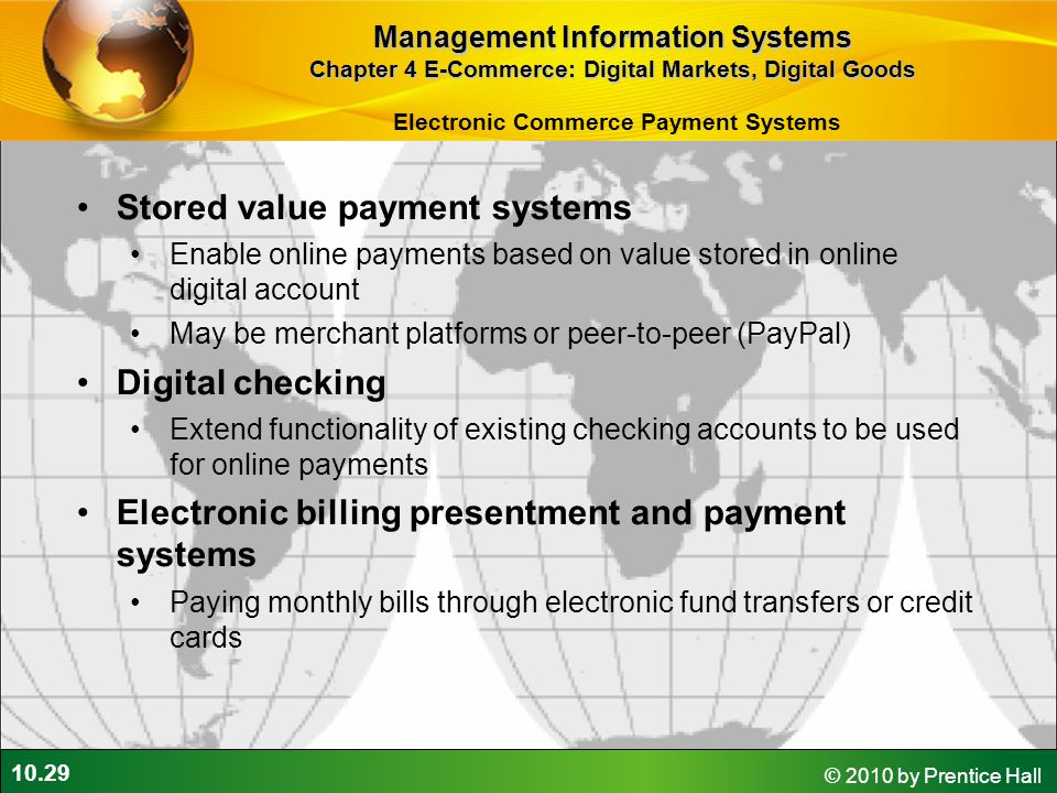 Stored value payment systems