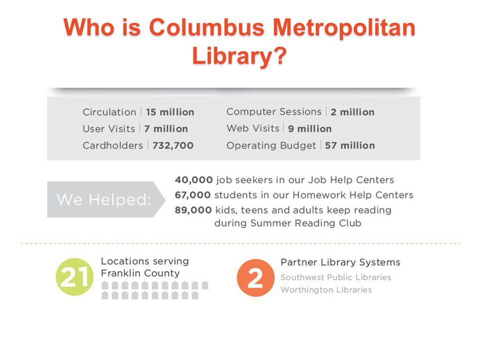 Who is Columbus Metropolitan Library