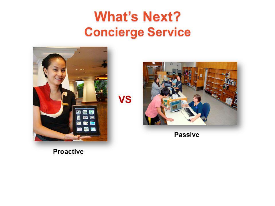 What's Next Concierge Service