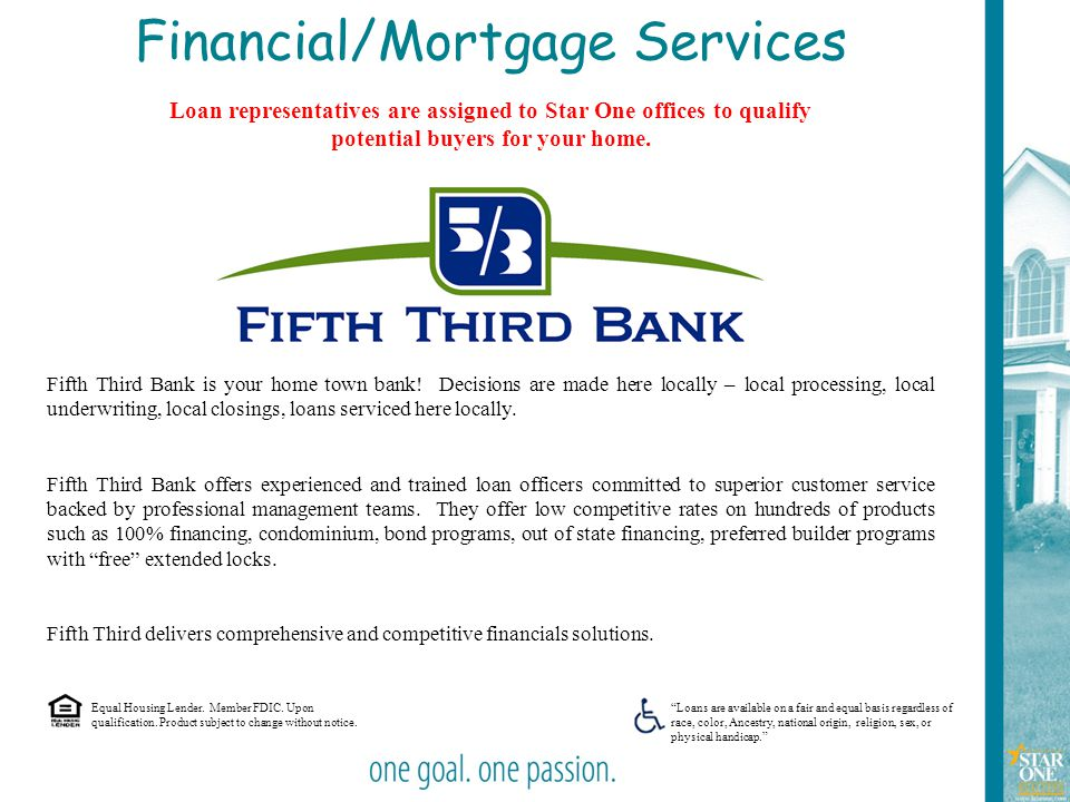 Financial/Mortgage Services