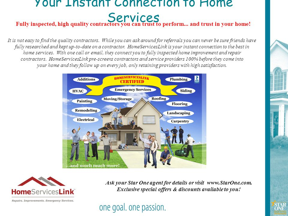 Your Instant Connection to Home Services