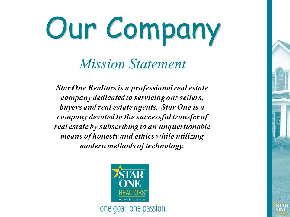 Our Company Mission Statement