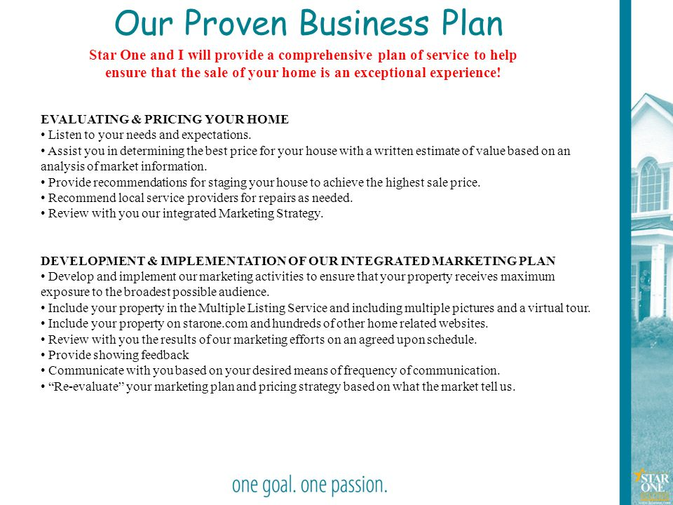 Our Proven Business Plan