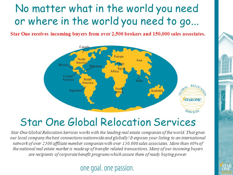 Star One Global Relocation Services