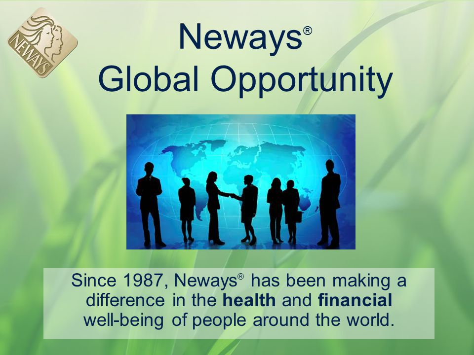 Neways® Global Opportunity