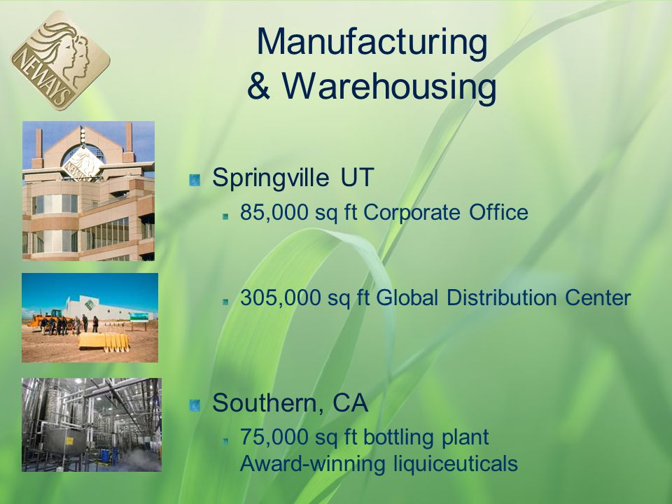 Manufacturing & Warehousing