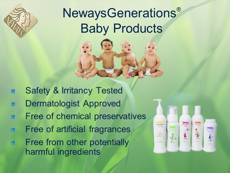NewaysGenerations® Baby Products