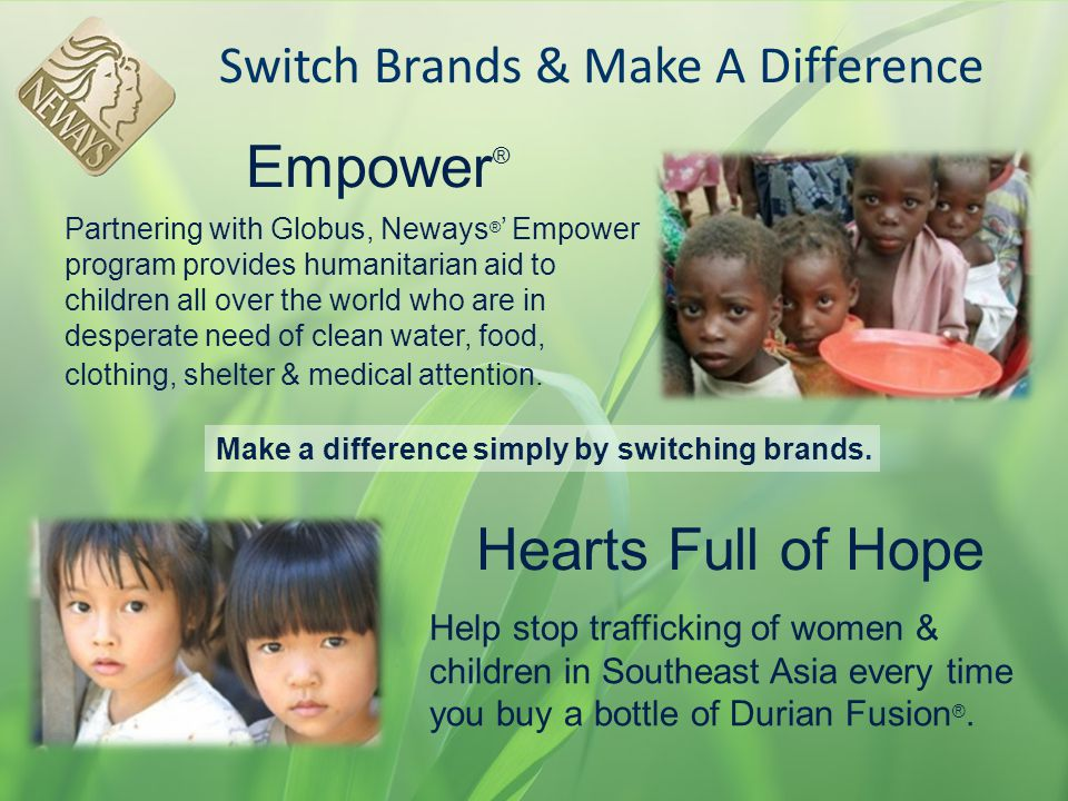 Switch Brands & Make A Difference