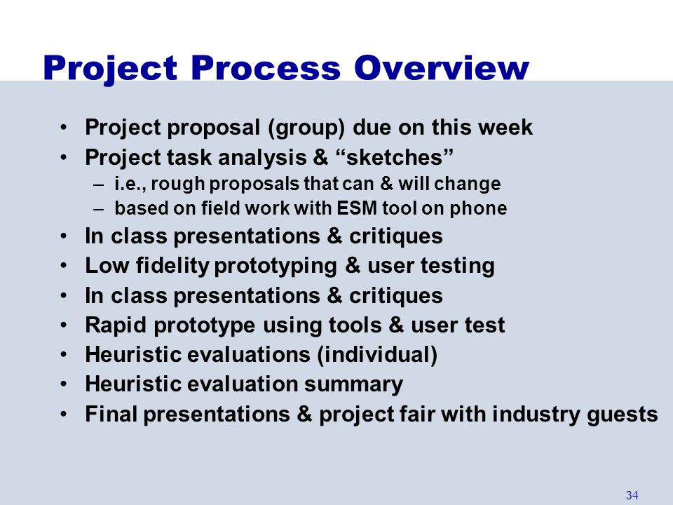 Project Process Overview