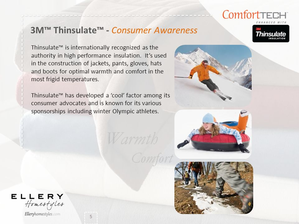3M™ Thinsulate™ - Consumer Awareness