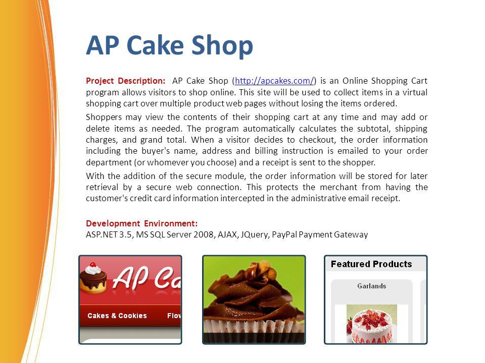 AP Cake Shop